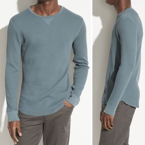 Men's Vince. Thermal Long Sleeve Crew